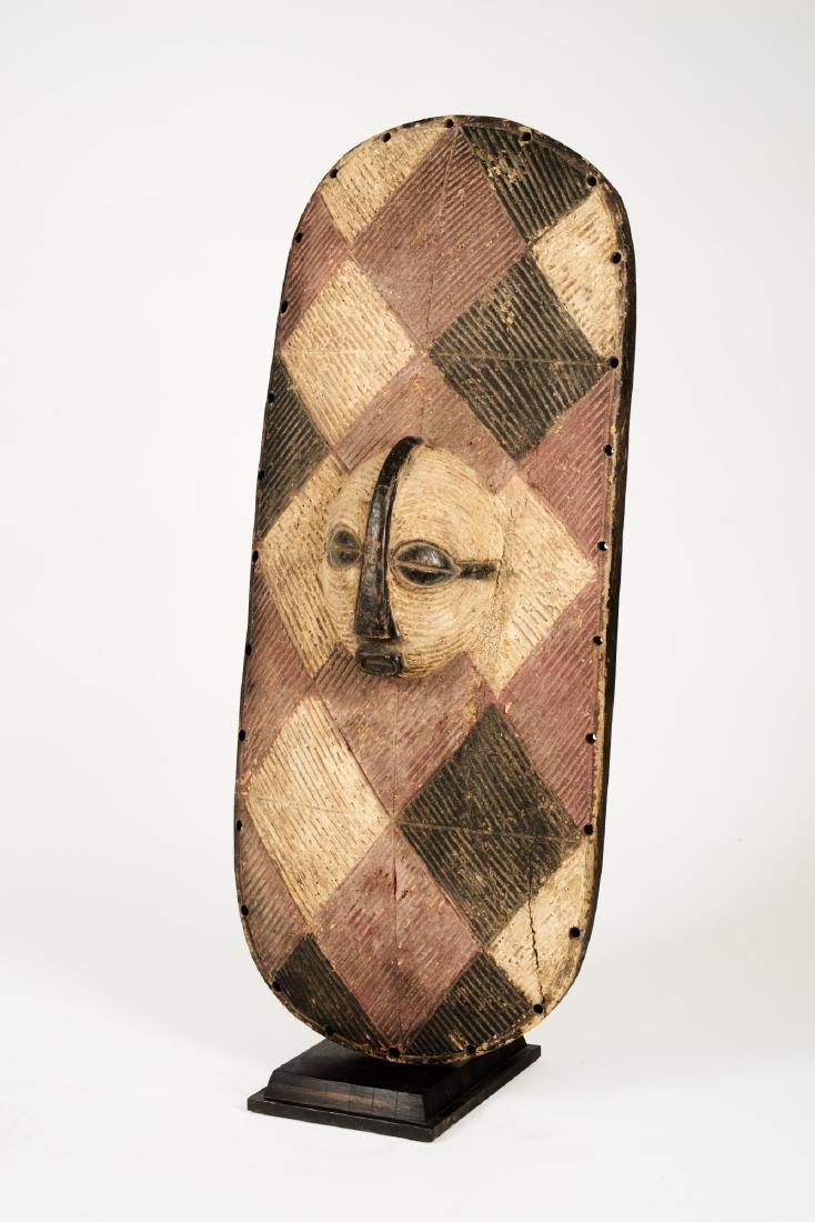 Luba Style Shield Tribal Art - 4