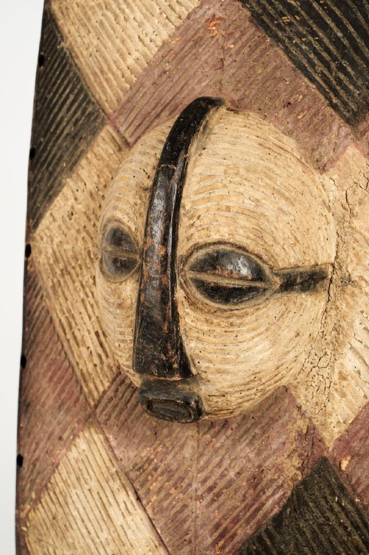Luba Style Shield Tribal Art - 5