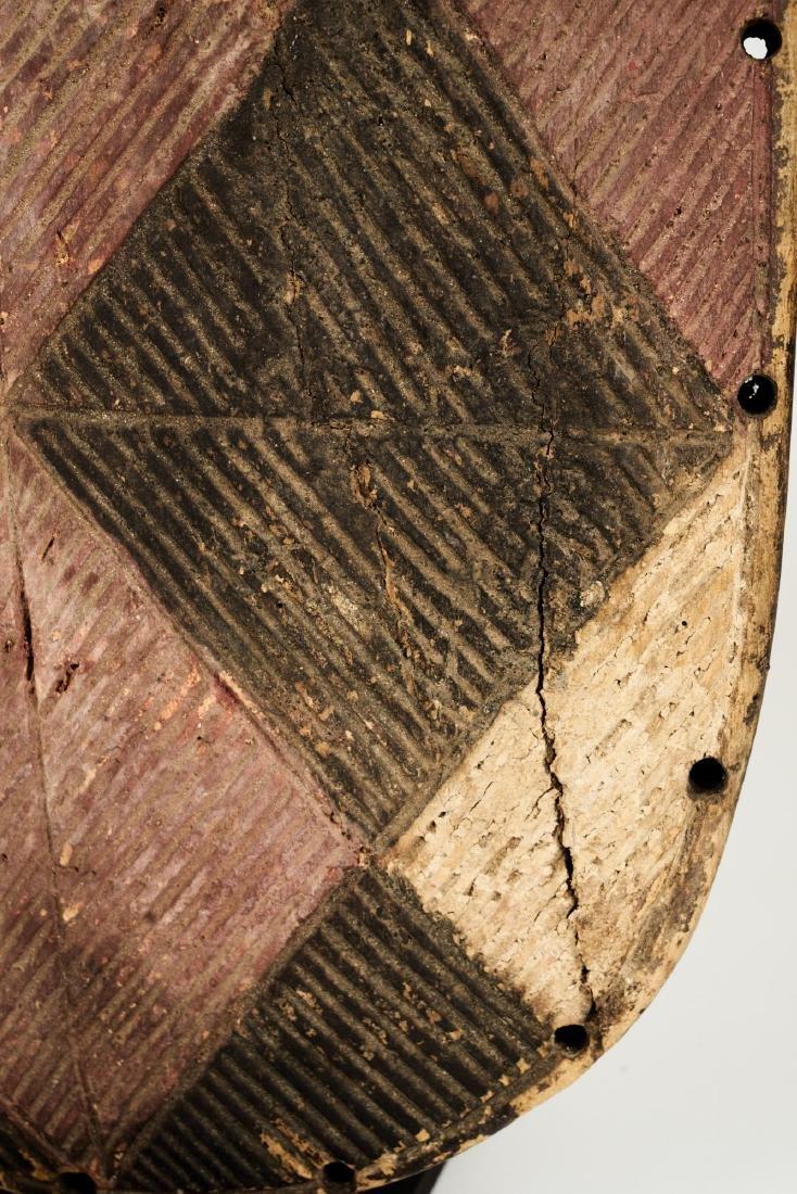 Luba Style Shield Tribal Art - 6