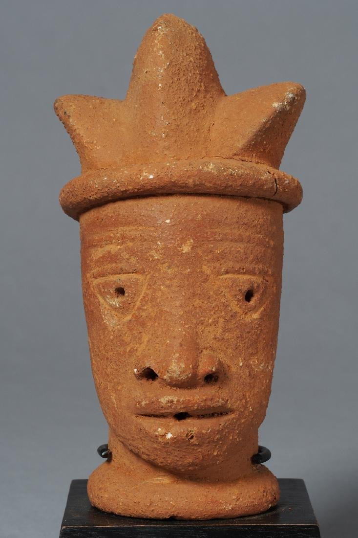 Nok Head Sculpture Tribal Art