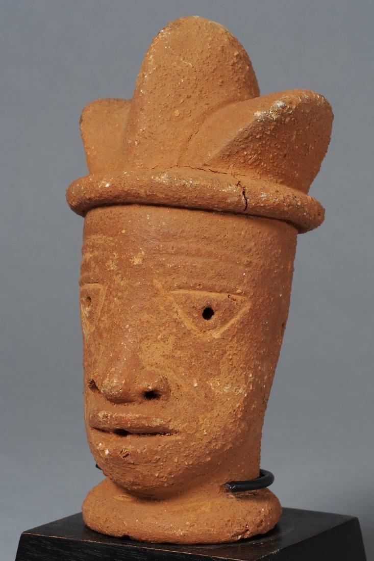 Nok Head Sculpture Tribal Art - 2