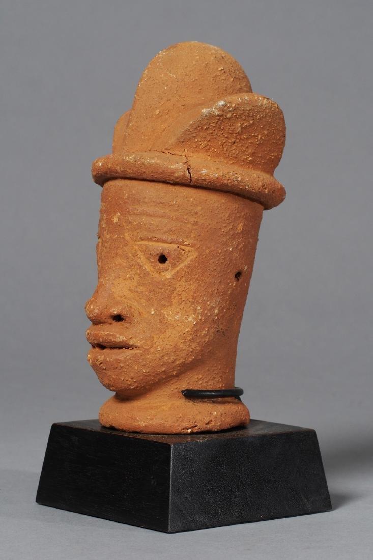 Nok Head Sculpture Tribal Art - 4