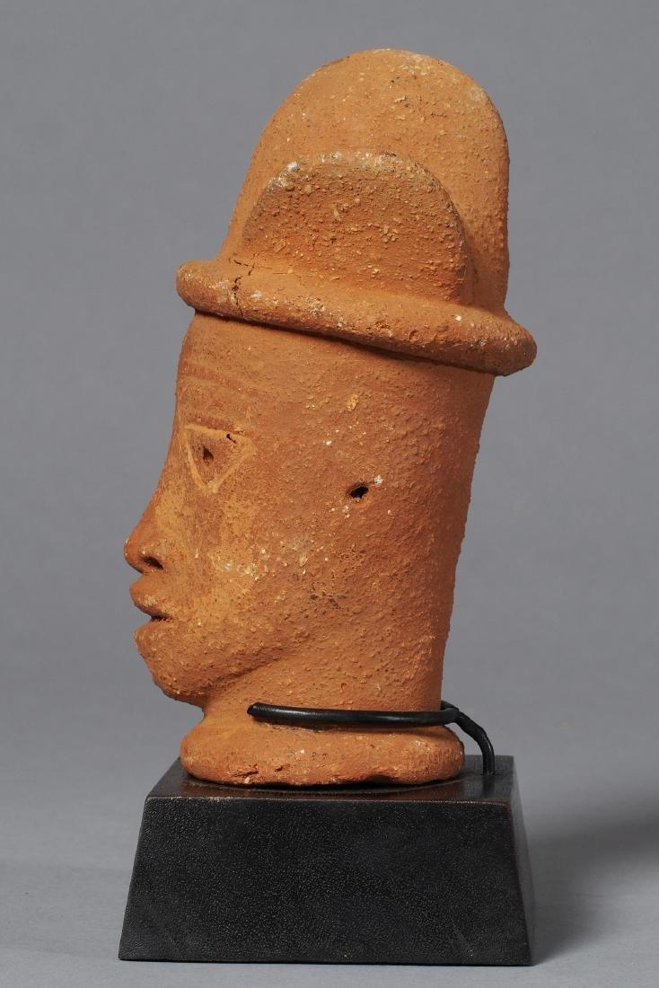 Nok Head Sculpture Tribal Art - 5
