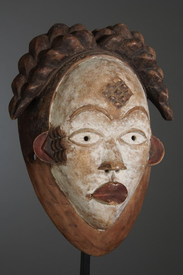 Punu Okuyi dance Mask Tribal Art