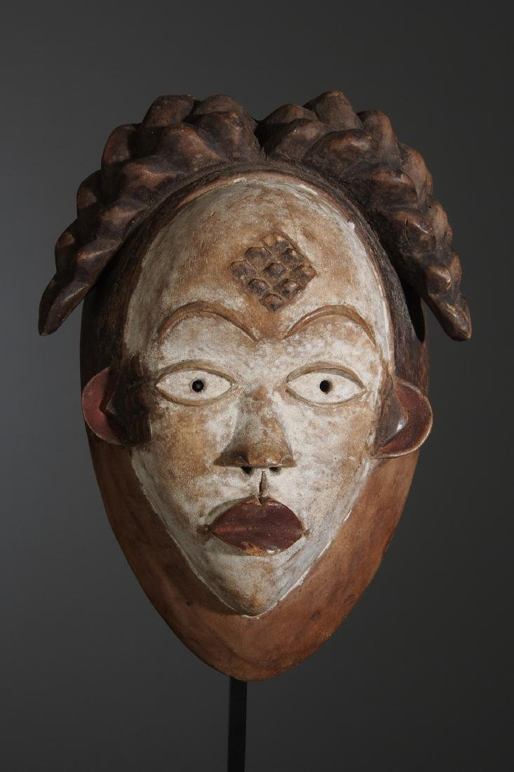 Punu Okuyi dance Mask Tribal Art - 2