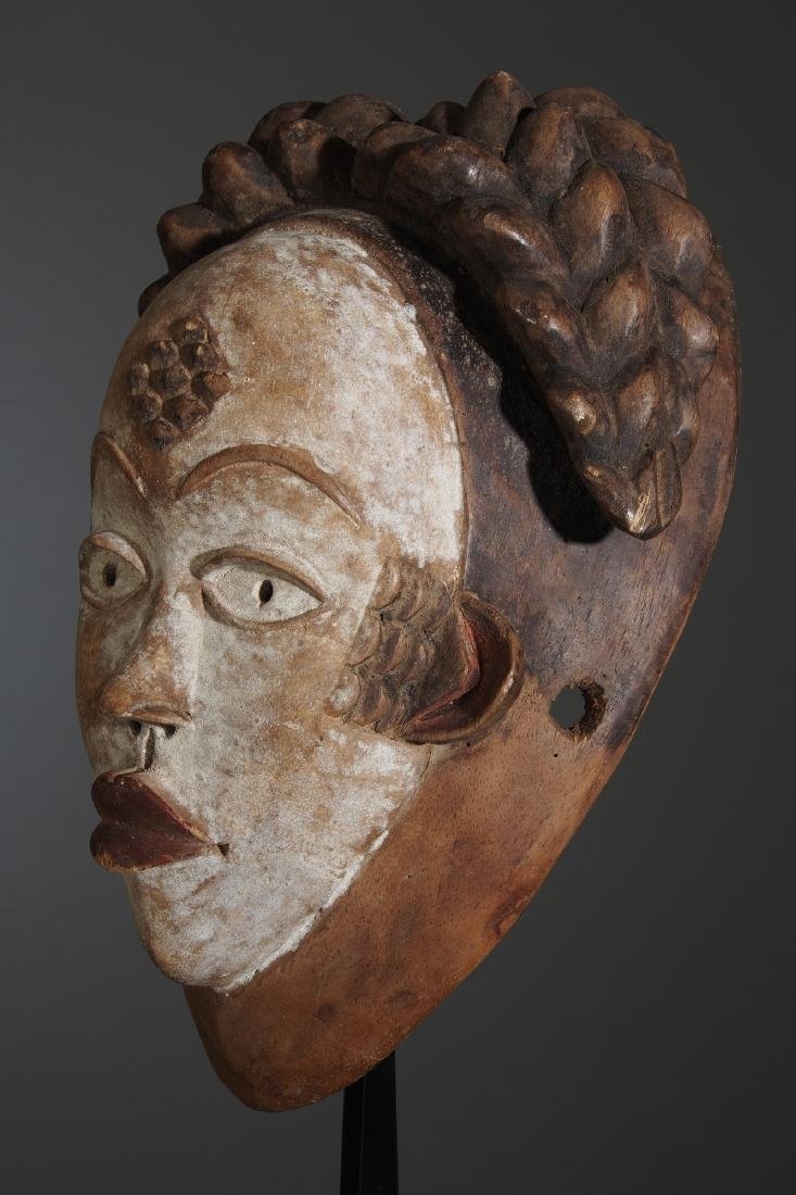 Punu Okuyi dance Mask Tribal Art - 3