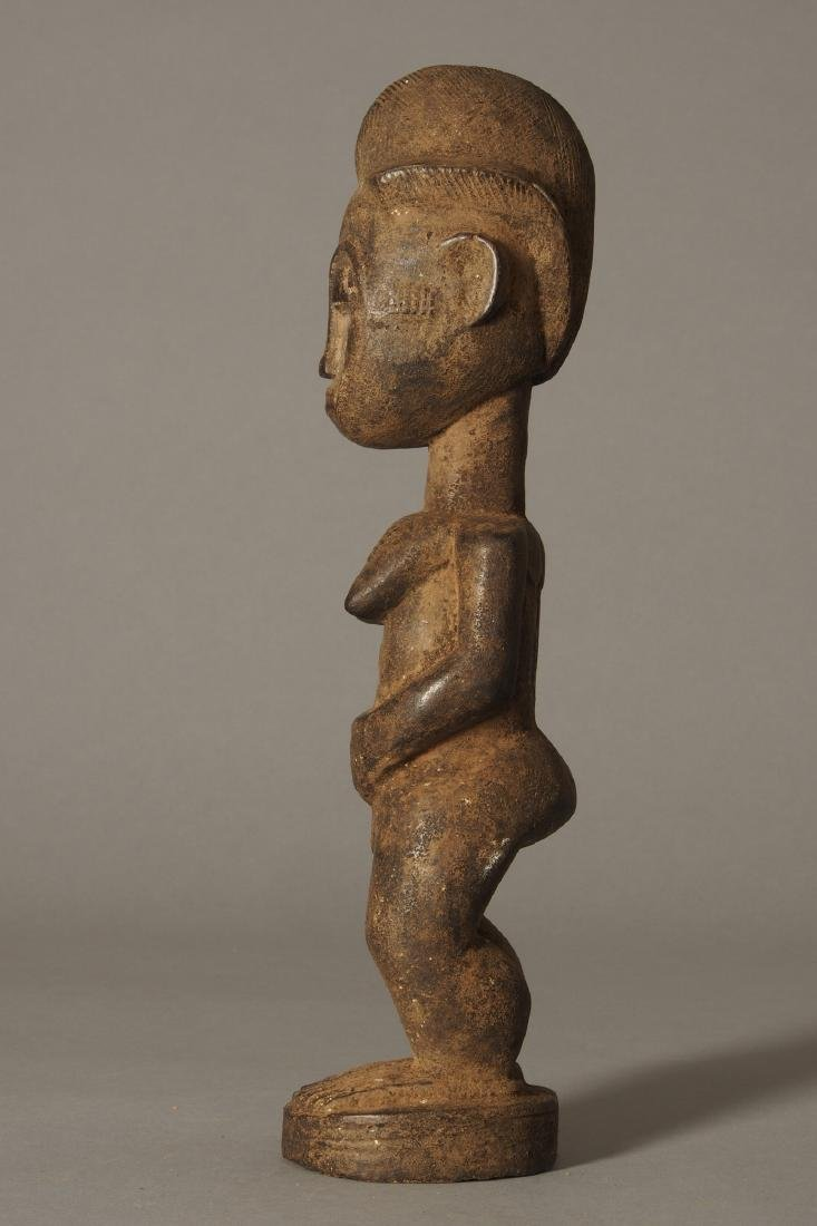 Baule Figure of a spirit spouse Tribal Art - 3