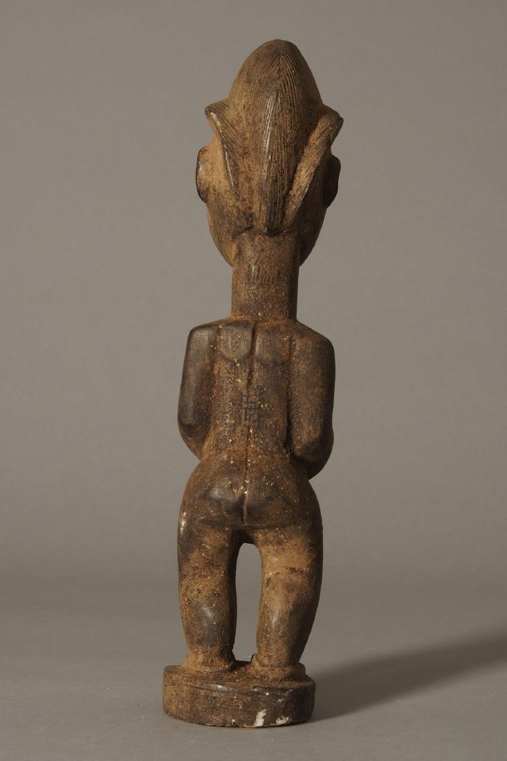 Baule Figure of a spirit spouse Tribal Art - 4