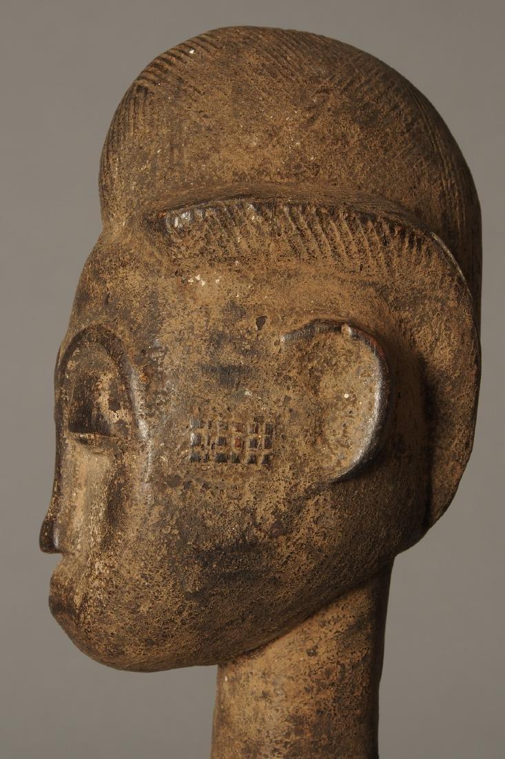 Baule Figure of a spirit spouse Tribal Art - 5