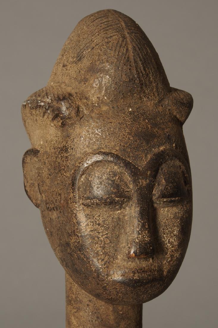 Baule Figure of a spirit spouse Tribal Art - 6