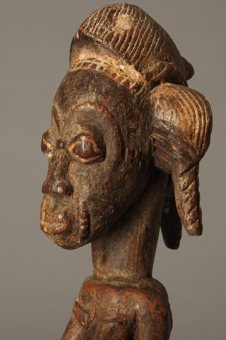 Baule Figure of a spirit spouse Tribal Art