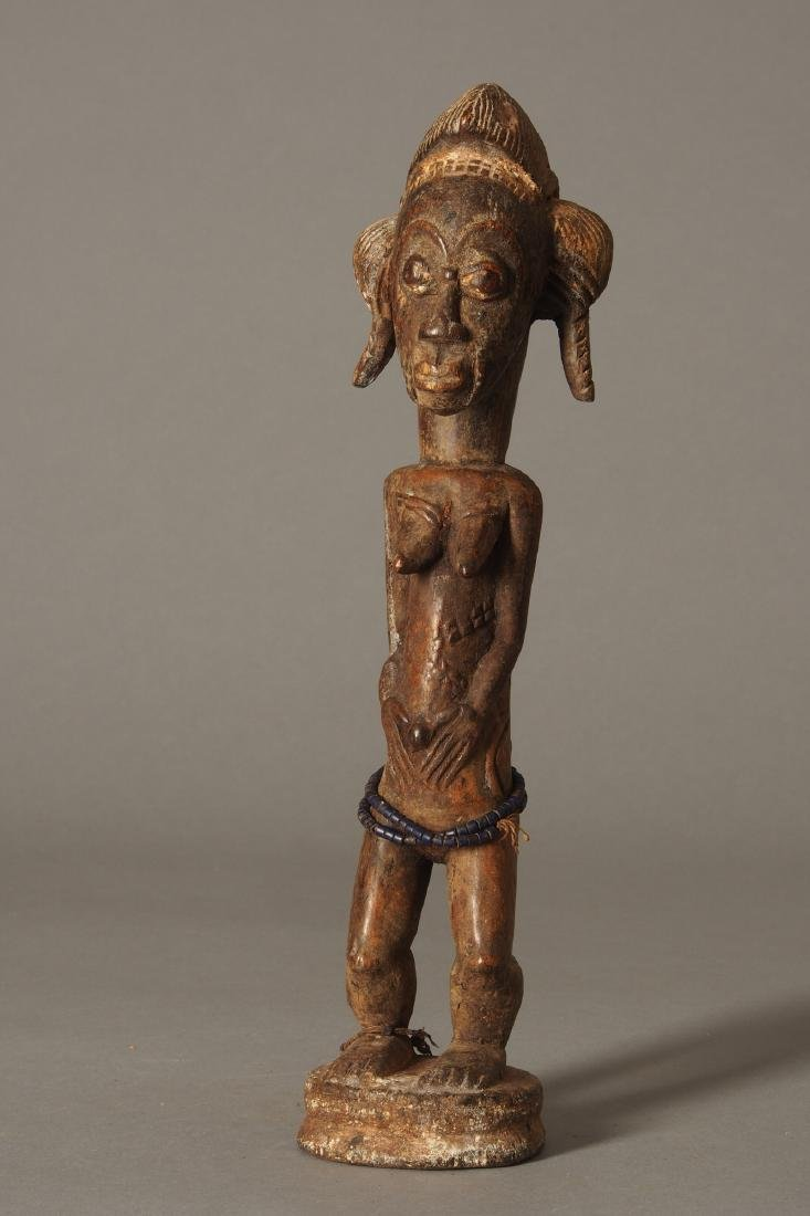 Baule Figure of a spirit spouse Tribal Art - 2