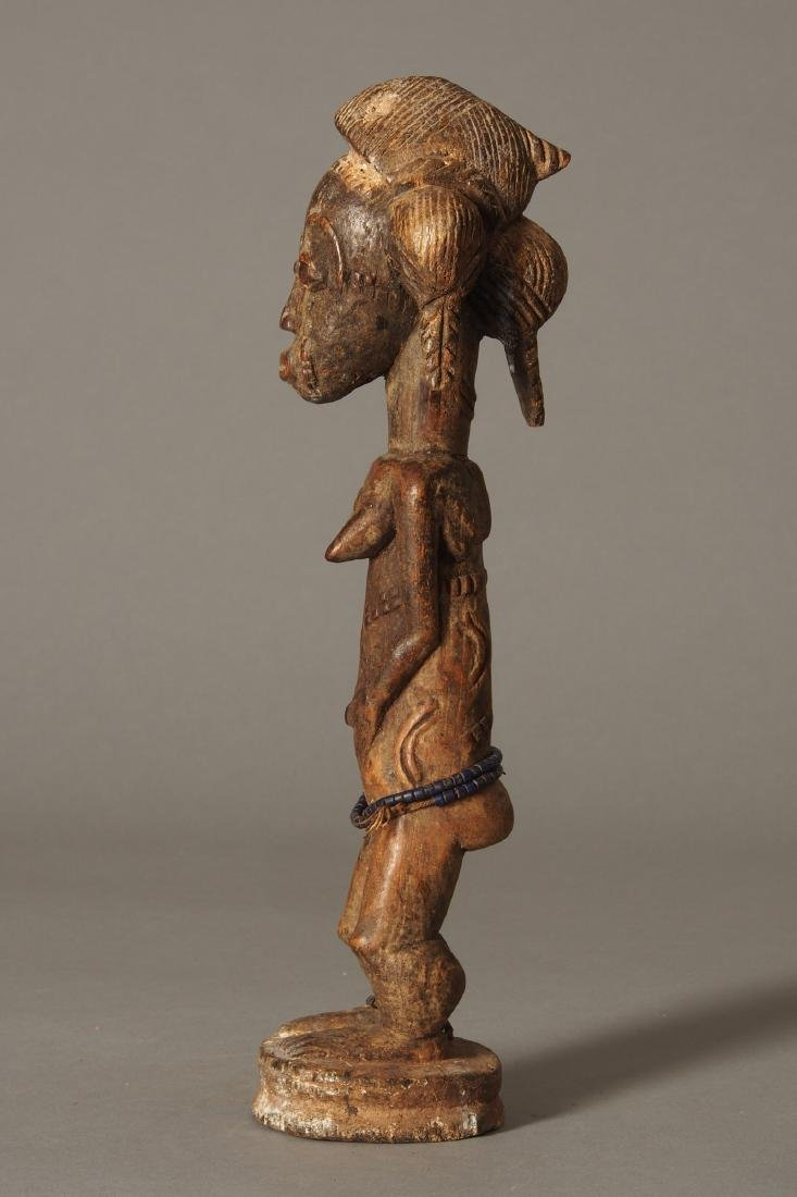 Baule Figure of a spirit spouse Tribal Art - 3
