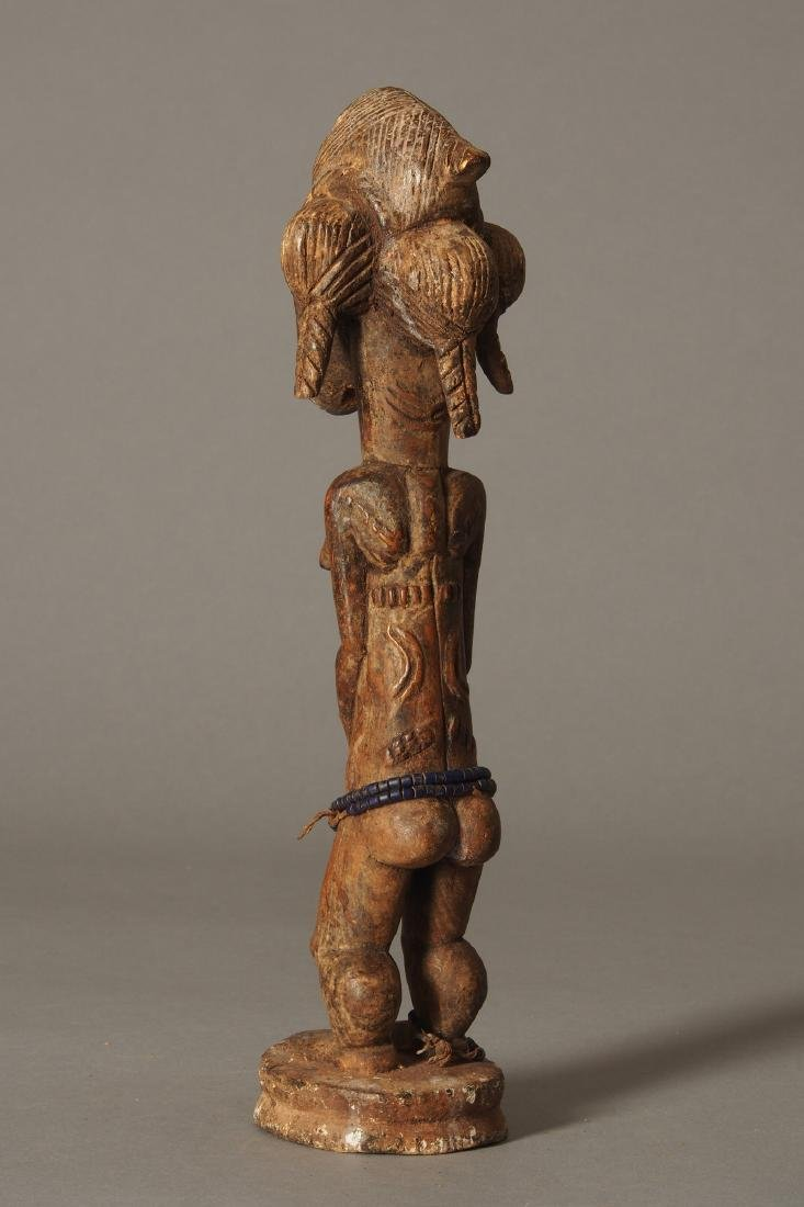 Baule Figure of a spirit spouse Tribal Art - 4