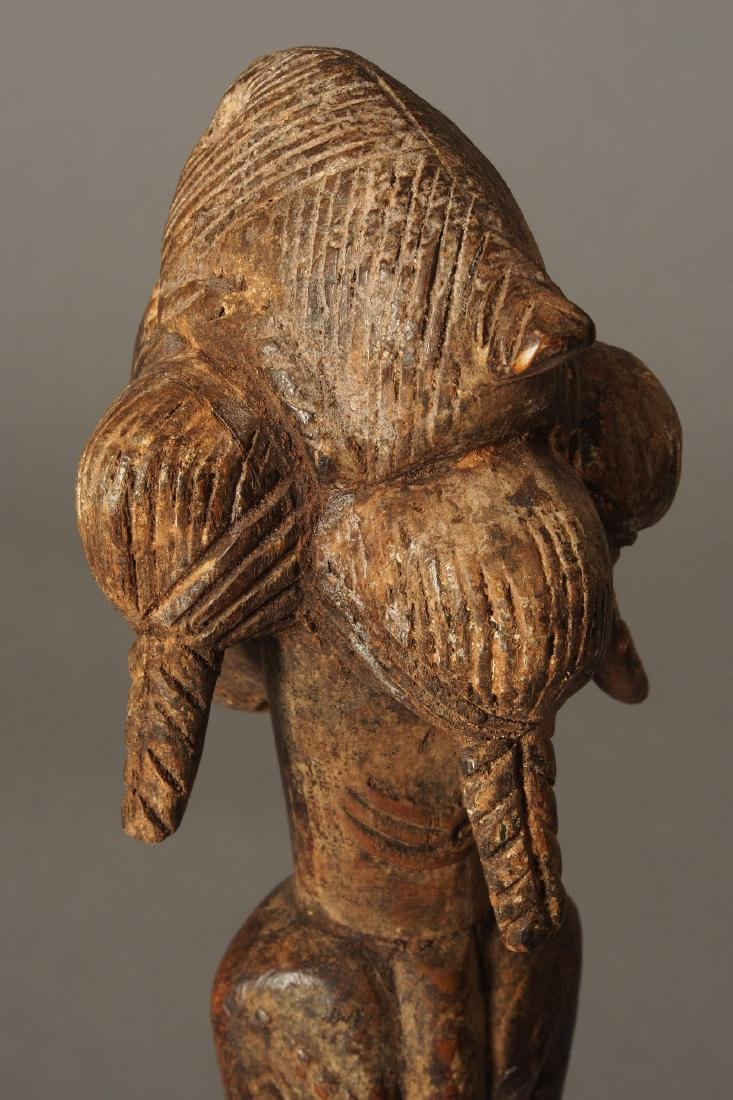 Baule Figure of a spirit spouse Tribal Art - 5