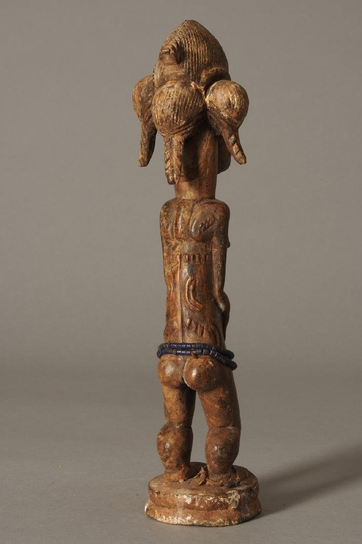 Baule Figure of a spirit spouse Tribal Art - 6