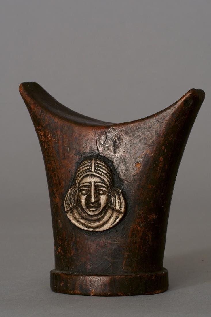 Three Ethiopian Headrests Tribal Art - 3