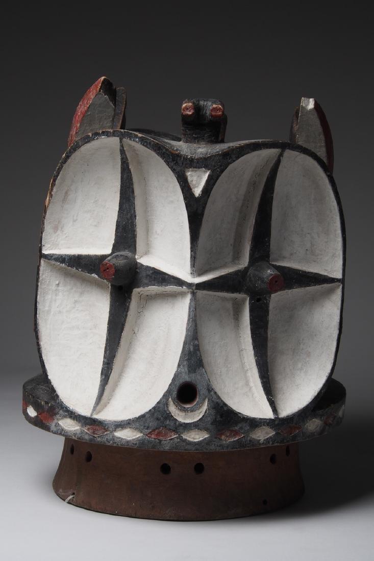 Bembe Janus Head Helmet mask Tribal Art