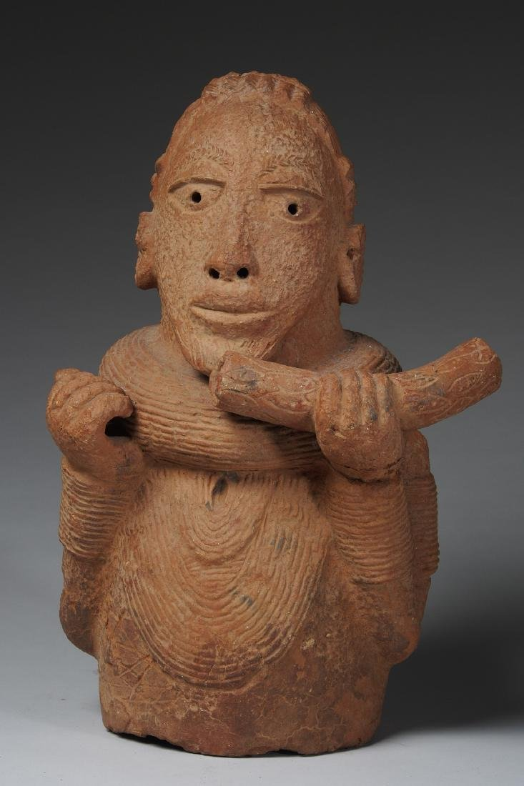 Nok Male Half Figure Tribal Art