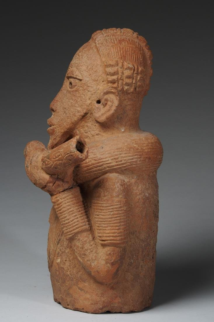 Nok Male Half Figure Tribal Art - 2