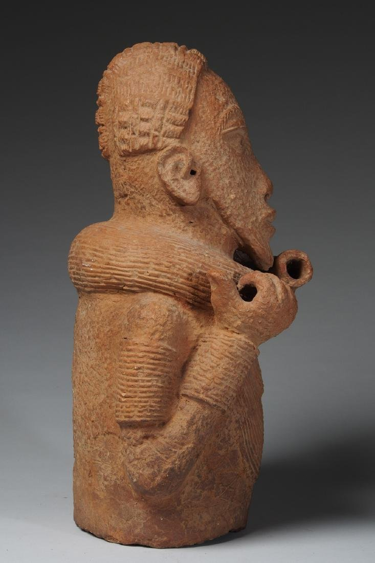 Nok Male Half Figure Tribal Art - 4