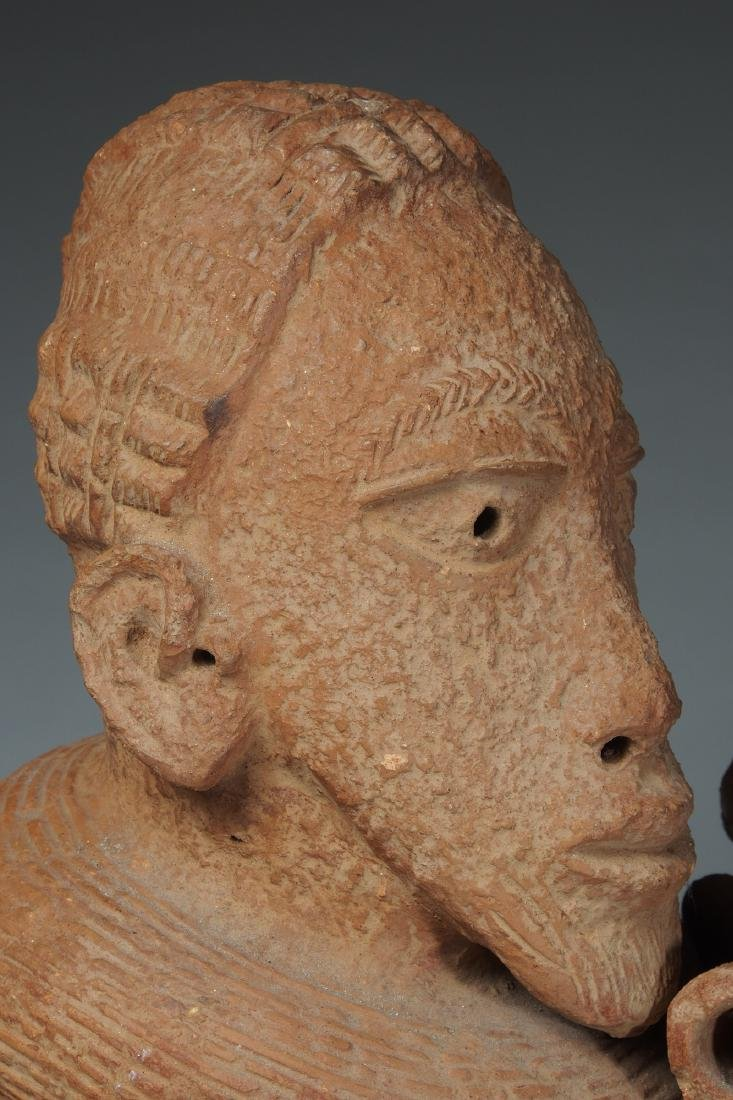 Nok Male Half Figure Tribal Art - 8