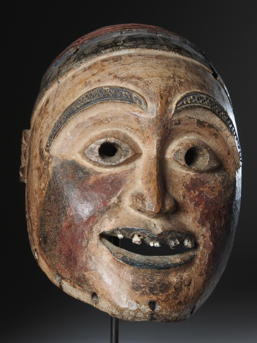 Woyo Mask of an Earth Spirit ndunga Tribal Art