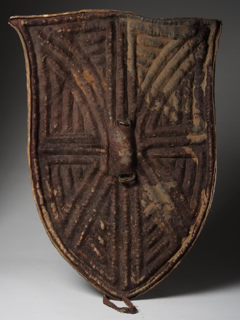 Wandala Leather War Shield
