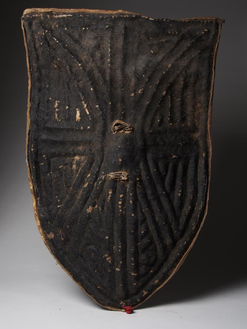 Wandala Leather War Shield Tribal Art