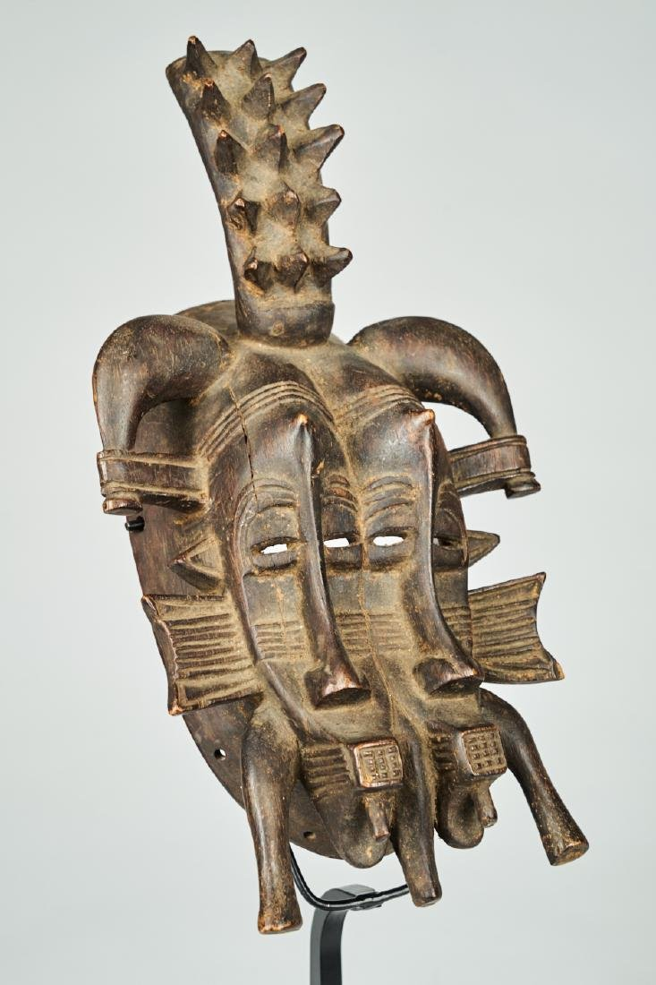 Senufo Mask Tribal Art - 2