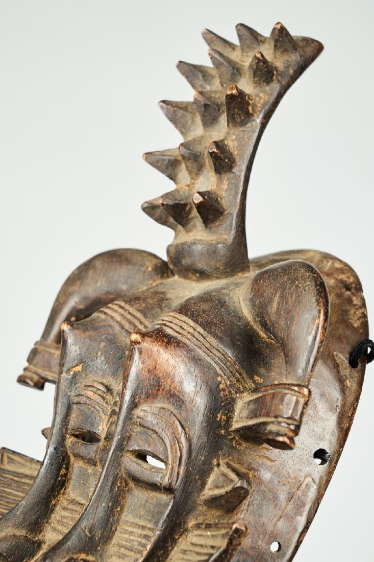 Senufo Mask Tribal Art - 6