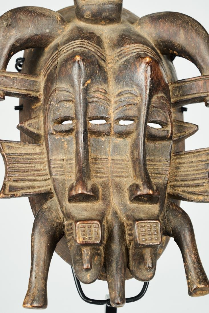 Senufo Mask Tribal Art - 7