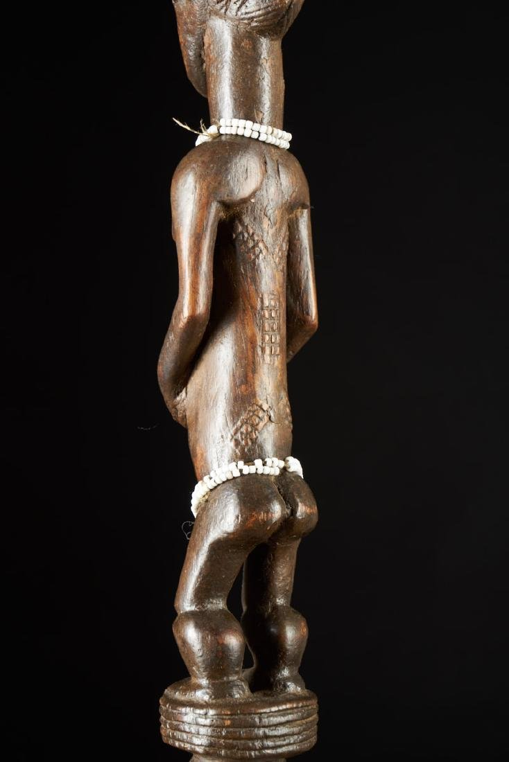 Ceremonial Songye Wooden Cane Tribal Art - 6