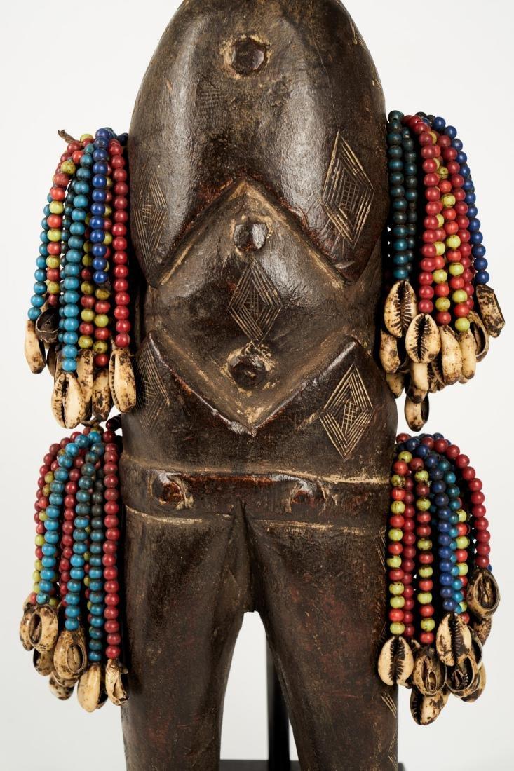 Beaded Doll from Mount Mandara Region Tribal Art - 9
