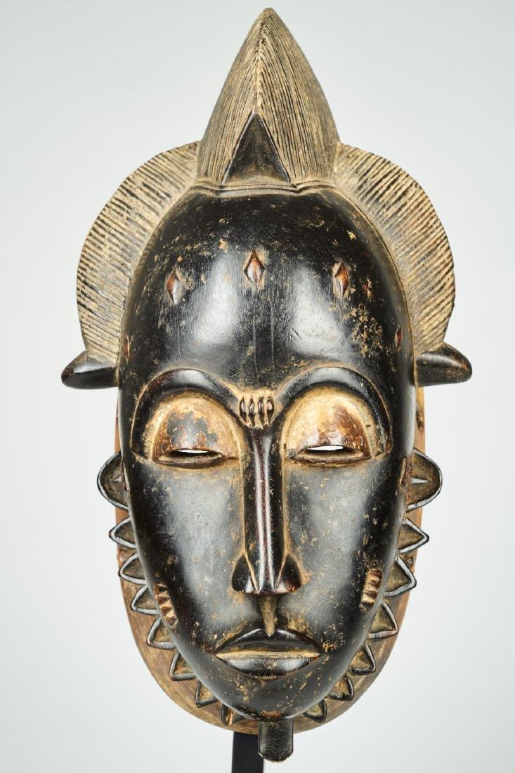 Kpan mask Baule people Tribal Art