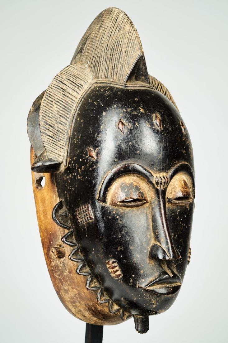 Kpan mask Baule people Tribal Art - 2