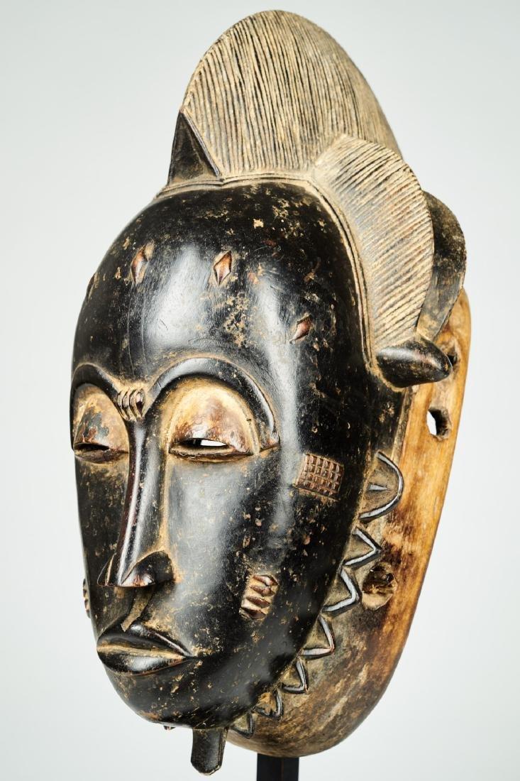 Kpan mask Baule people Tribal Art - 3