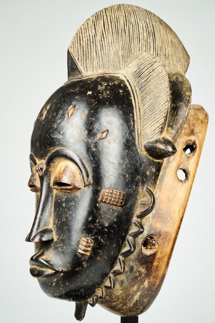 Kpan mask Baule people Tribal Art - 4
