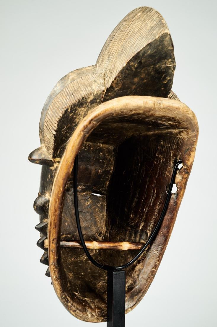 Kpan mask Baule people Tribal Art - 6