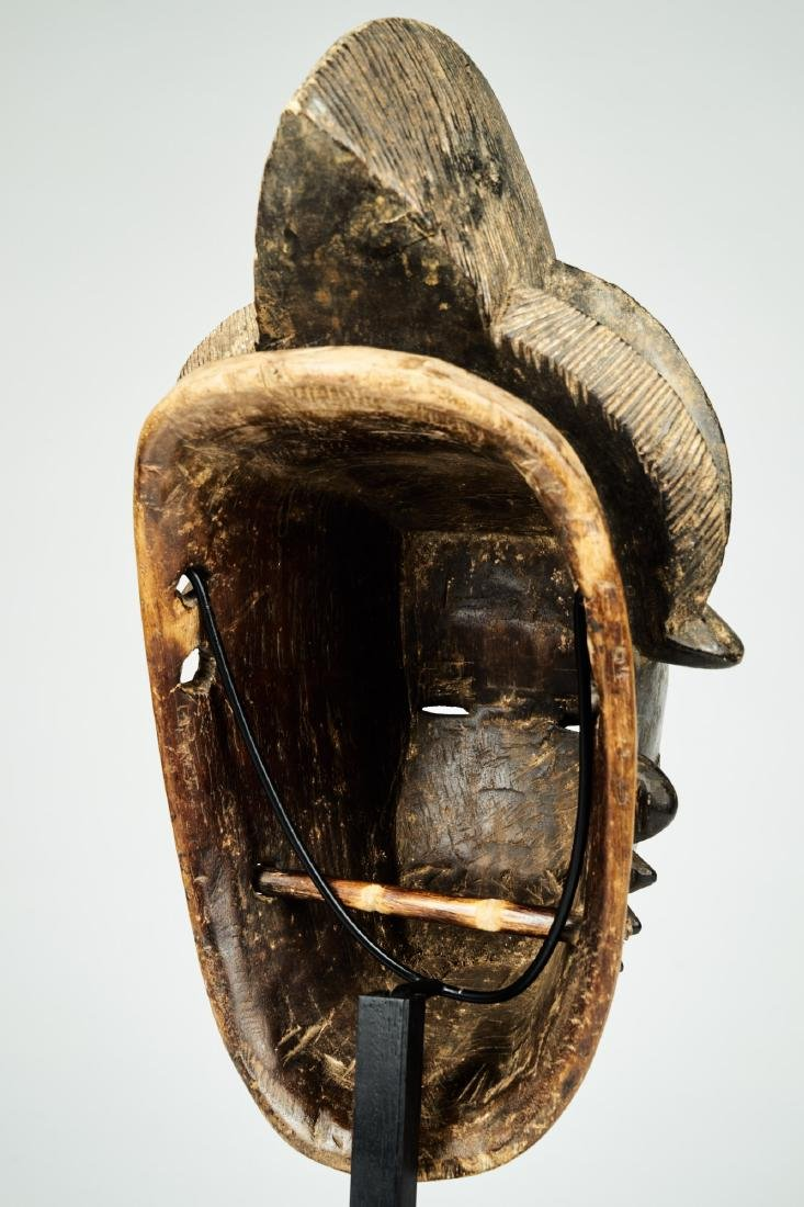 Kpan mask Baule people Tribal Art - 7