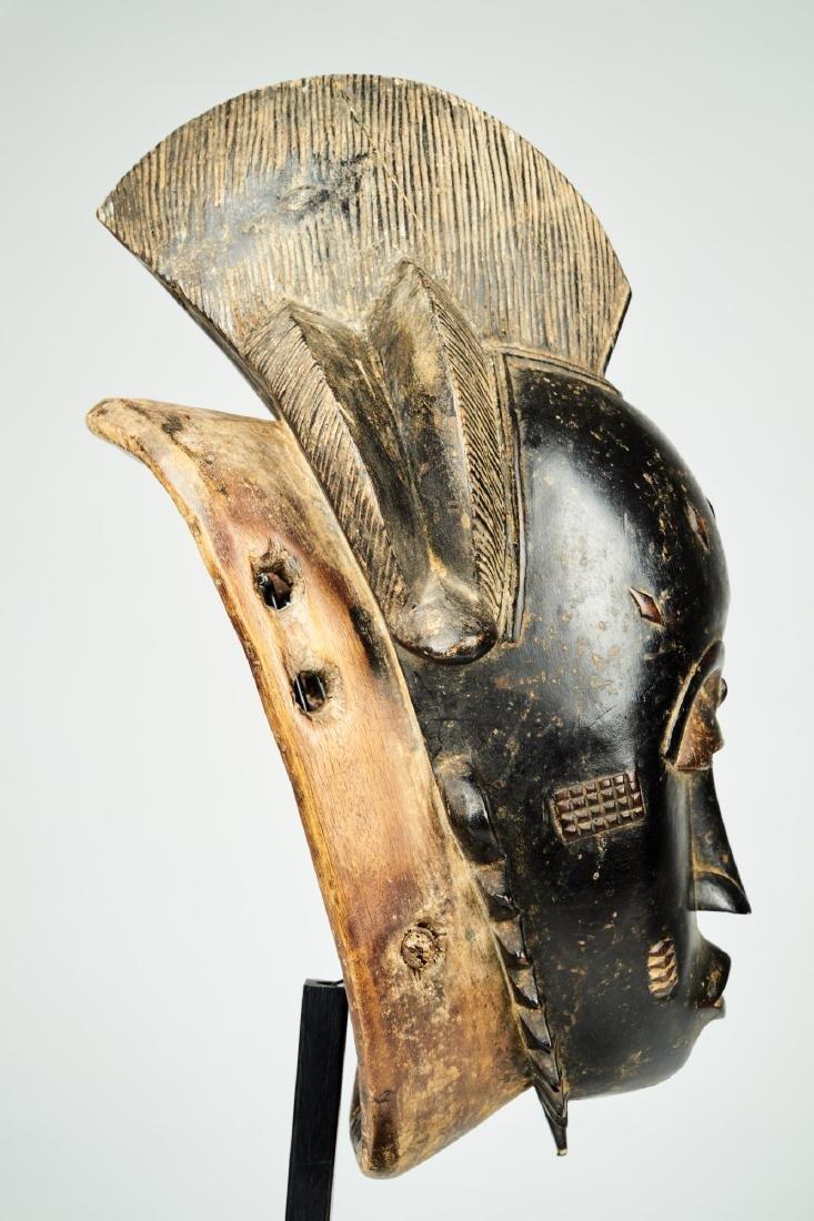 Kpan mask Baule people Tribal Art - 8