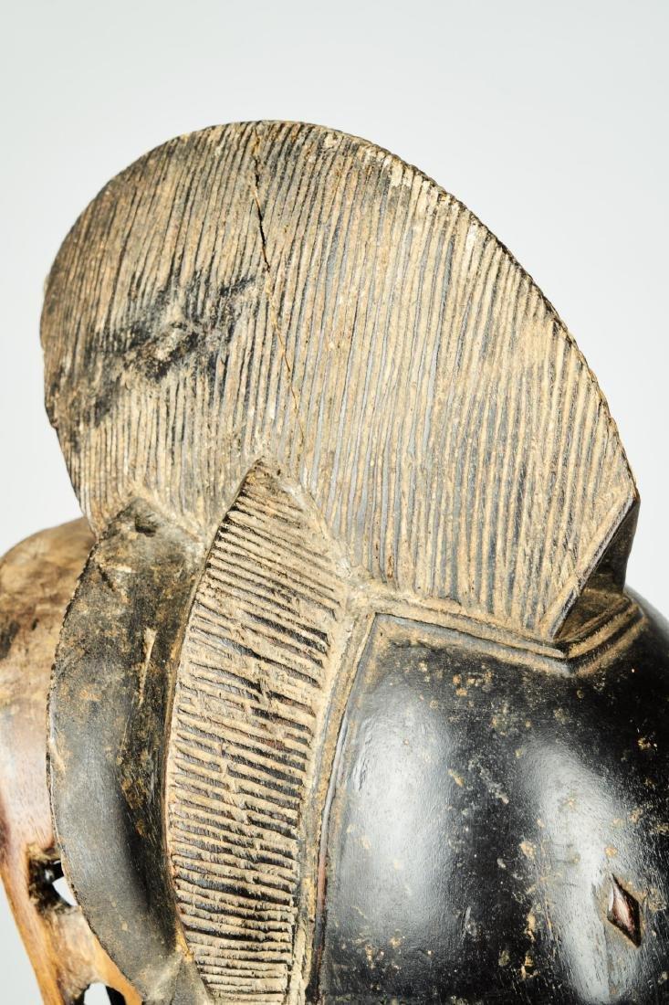 Kpan mask Baule people Tribal Art - 9