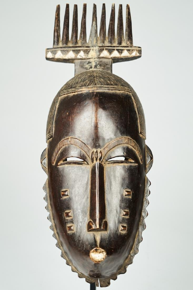 West African Baule-Guru Dance Mask Tribal art
