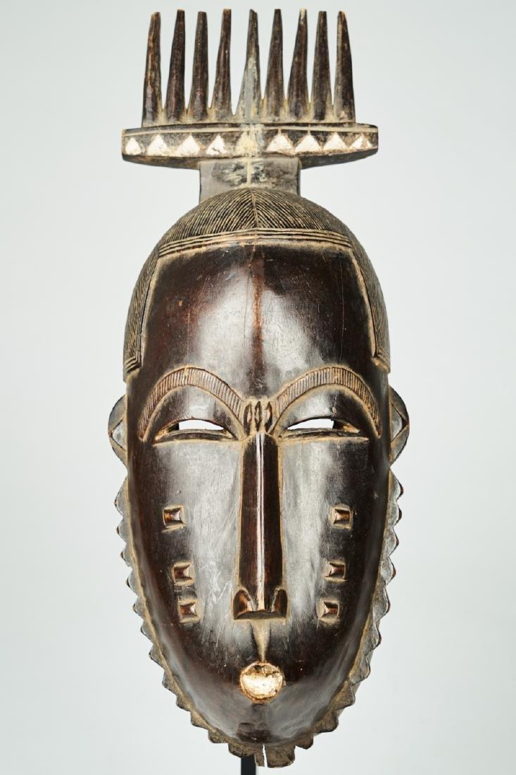 West African Baule-Guru Dance Mask Tribal art