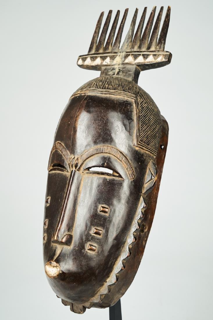 West African Baule-Guru Dance Mask Tribal art - 3
