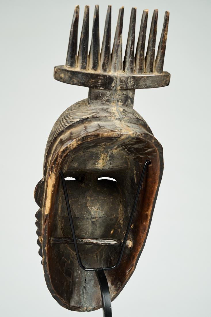 West African Baule-Guru Dance Mask Tribal art - 6
