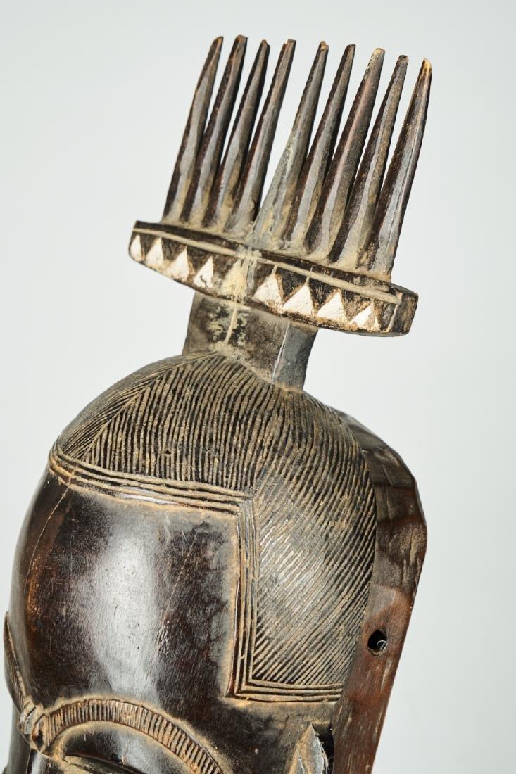 West African Baule-Guru Dance Mask Tribal art - 7