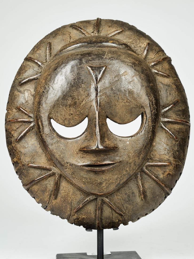 Eket Mask from the Ekpo Secret Society Tribal art