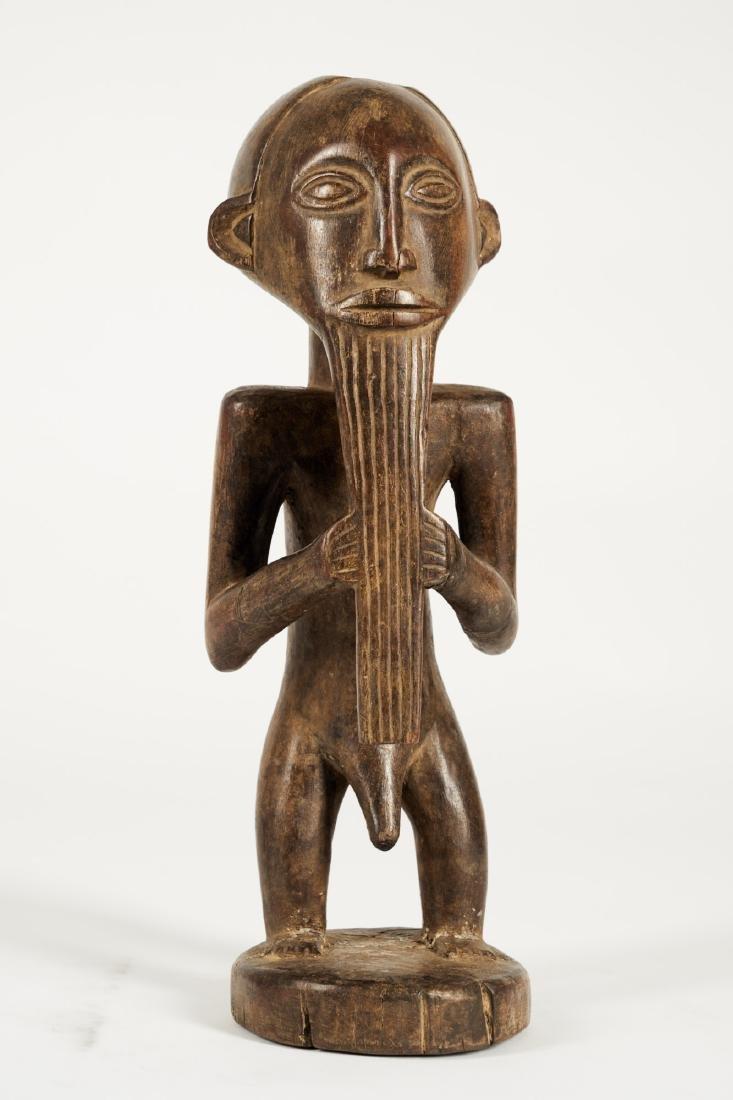 Kusu bearded Statue from Ituri province Tribal Art