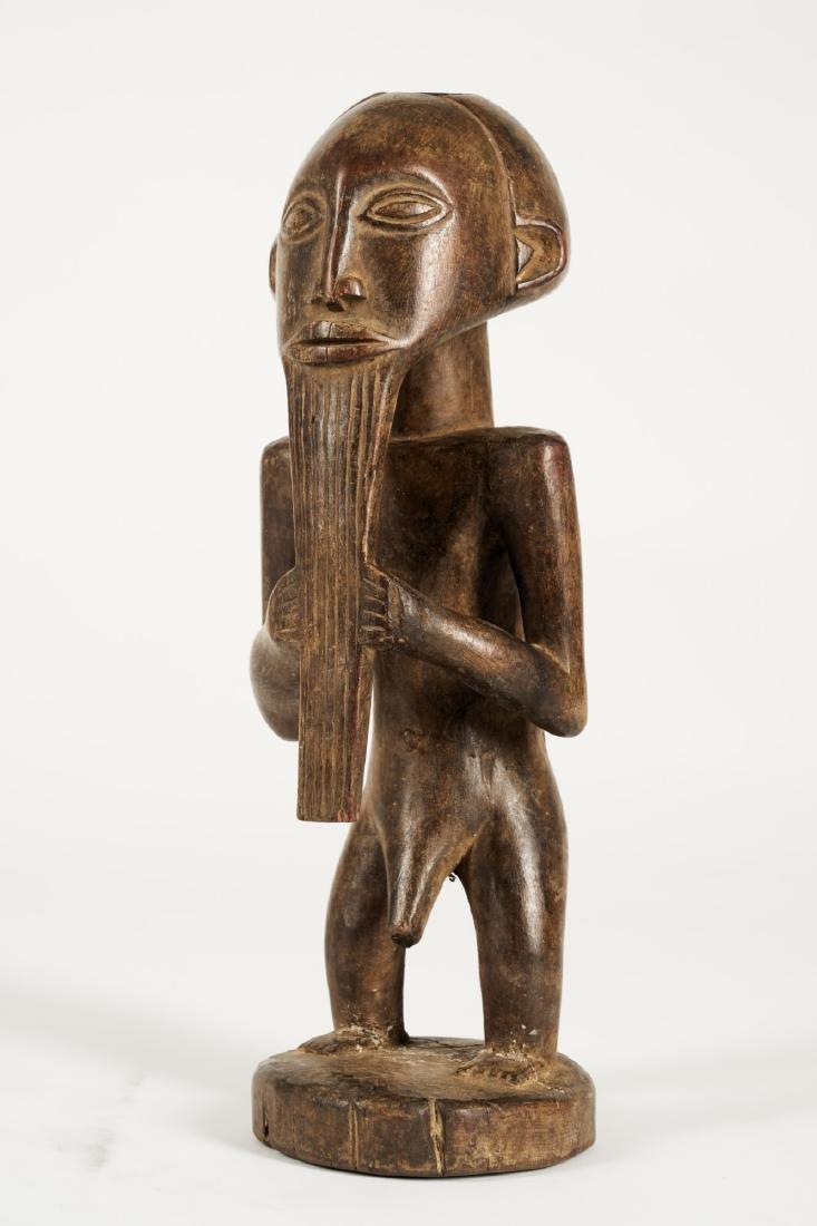 Kusu bearded Statue from Ituri province Tribal Art - 2